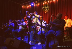 Treme Brass Band at dba, New Orleans