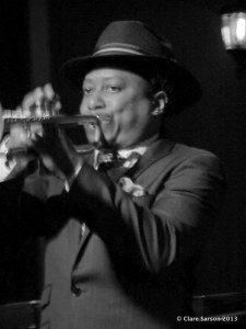 Kermit Ruffins at the Blue Nile, June 2013